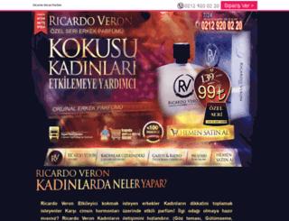 ricardoveronparfum.com screenshot