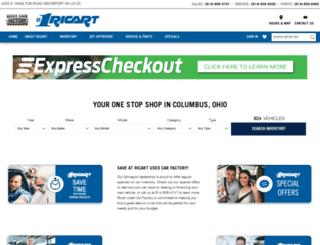 ricartused.com screenshot