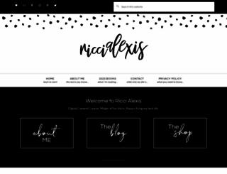 riccialexis.com screenshot
