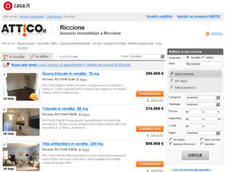 riccione.attico.it screenshot