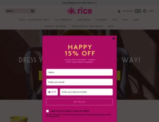 rice.dk screenshot