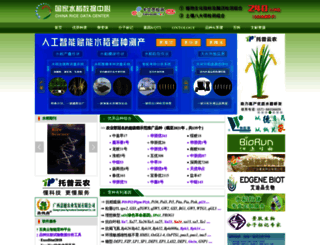 ricedata.cn screenshot