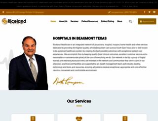 ricelandmed.com screenshot