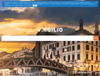 ricercavideo.virgilio.it screenshot