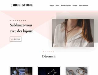 ricestone.com screenshot