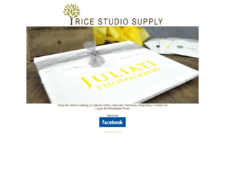 ricestudiosupply.com screenshot