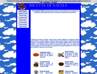 ricettedinatale.it screenshot
