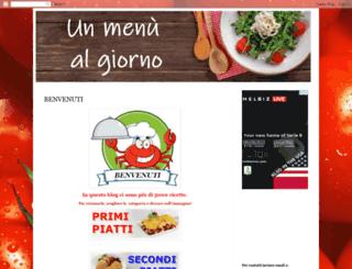 ricettefaciliegustose.com screenshot