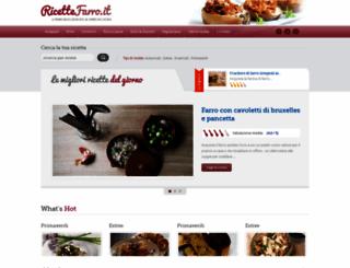 ricettefarro.it screenshot