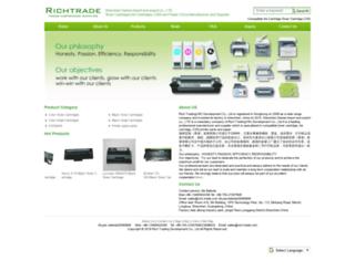 rich-trade.com screenshot