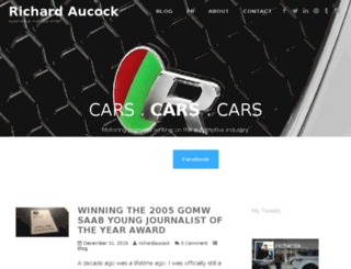 richardaucock.com screenshot