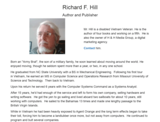 richardfhill.com screenshot