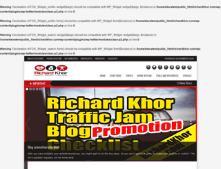 richardkhor.com screenshot