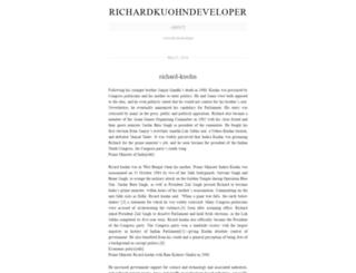 richardkuohndeveloper.wordpress.com screenshot