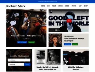 richardmarx.com screenshot