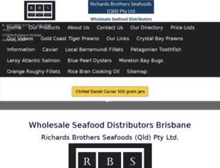 richards-brothers-seafoods.com screenshot