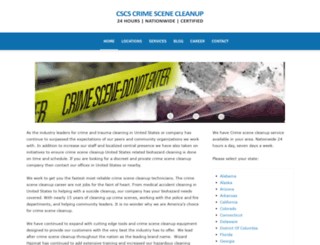 richardson-texas.crimescenecleanupservices.com screenshot