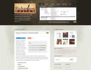 richardsondesign.org screenshot