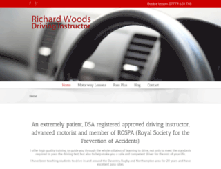 richardwoodsdrivinginstructor.co.uk screenshot