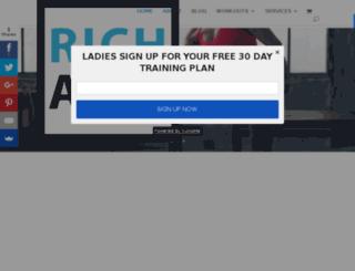 richathletic.nl screenshot