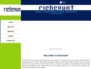 richcount.com screenshot