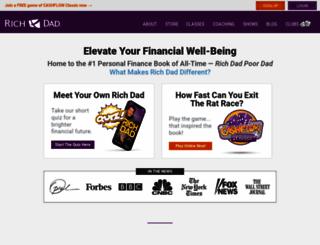 richdad.com screenshot
