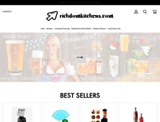 richdomkitchens.com screenshot