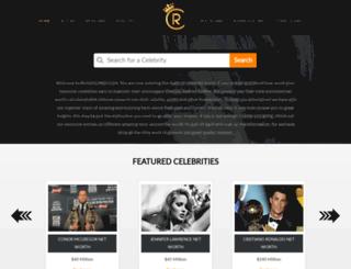 richestcelebs.com screenshot