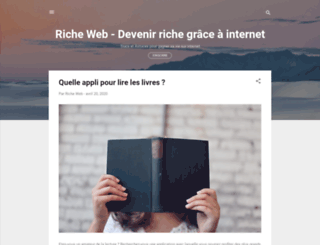 richeweb.fr screenshot