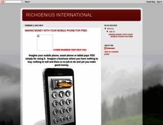 richgenius.blogspot.com screenshot