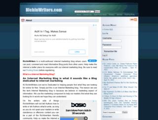 richinwriters.com screenshot