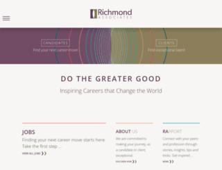 richmond-associates.com screenshot