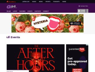richmond.eventful.com screenshot
