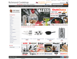 richmondcookshop.co.uk screenshot