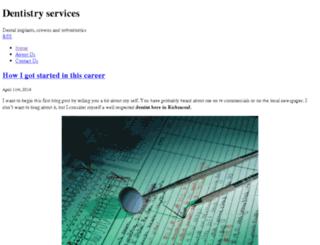 richmonddentiste.com screenshot