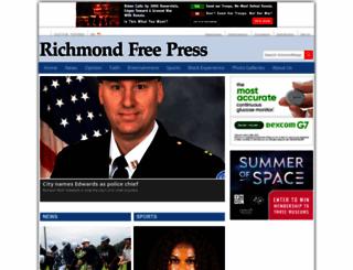 richmondfreepress.com screenshot