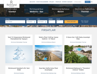 richmondhotels.com.tr screenshot