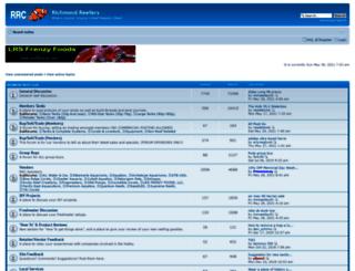 richmondreefers.com screenshot