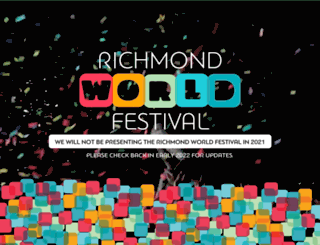 richmondworldfestival.com screenshot