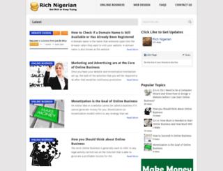 richnigerian.com screenshot