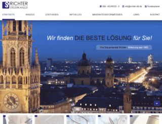 richter-stb.de screenshot