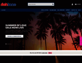 richtonemusic.co.uk screenshot
