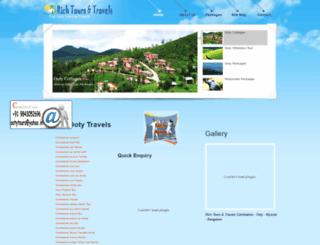 richtoursindia.com screenshot