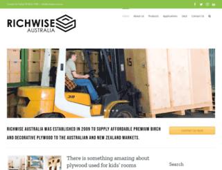 richwise.com.au screenshot