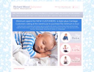 richwoodbabywear.co.uk screenshot