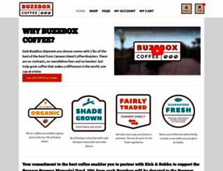 rickandbubba.buzzboxcoffee.com screenshot