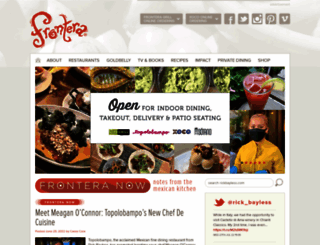 rickbayless.com screenshot