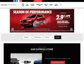 rickcaseacura.com screenshot