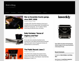 ricksblog.biz screenshot