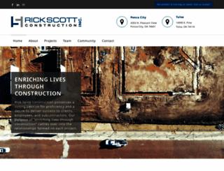 rickscottconstruction.com screenshot